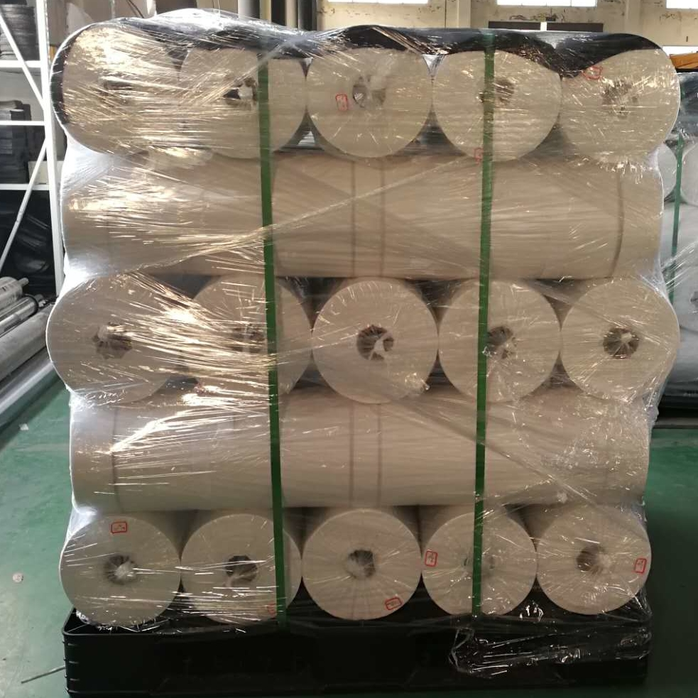 Print 90gsm stitchbond for roof , go to USA